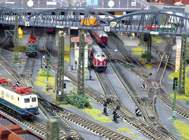 N scale layout