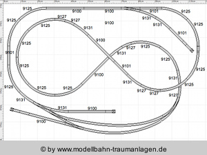 Small N gauge track plans